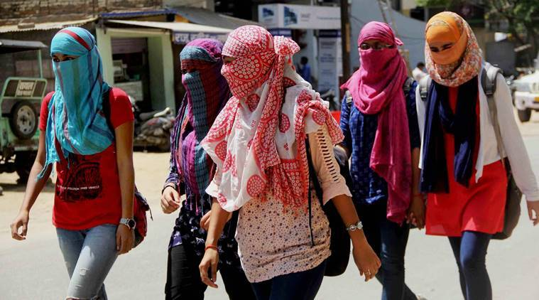Allahabad, Allahabad heat, heatwave Uttar Pradesh, UP temperature, Allahabad hottest place in UP, UP weather, UP temperature, india weather, IMD, India news, indian express