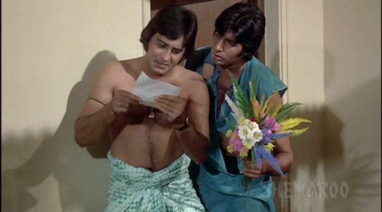 hera pheri pics, hera pheri stills, v amitabh bachchan, hera pheri vinod khanna, hera pheri images, bollywood news, entertainment updates, indian express