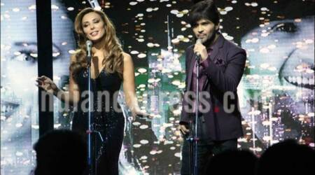 himesh reshammiya, iulia vantur, himesh reshammiya iulia vantur, iulia vantur news, iulia vantur singing, himesh reshammiya news, bollywood news, entertainment updates