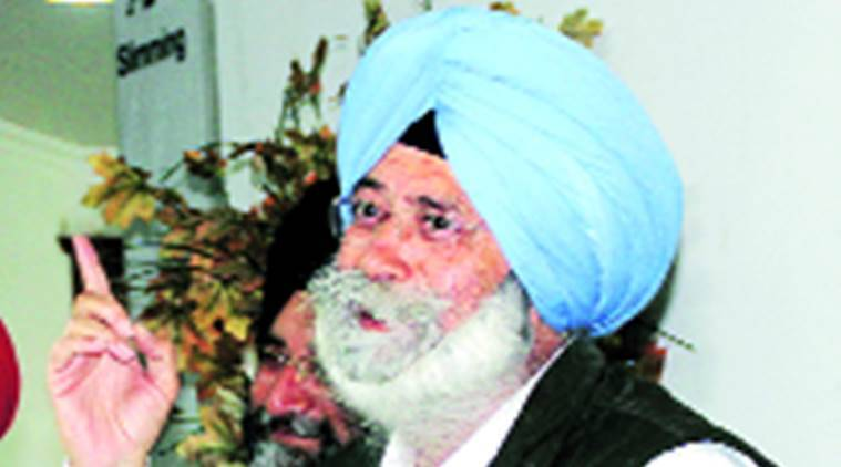 HS Phoolka resigns, Leader of Opposition  in Punjab , Aam Aadmi Party (AAP) , Punjab News, Indian Express News