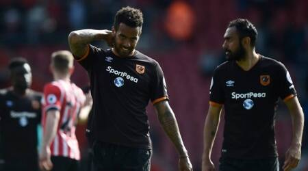 premier league, premier league relegation, sunderland, hull city vs southampton, hull vs southampton, leicester city, football news, sports news, indian express