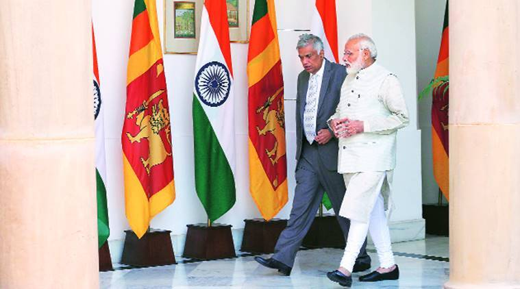 India-Sri Lanka, India-Sri Lanka relations, PM Modi, Modi, India-Sri Lanka signs MoU, Ranil Wickremesinghe, Sri Lanka PM India visit, indian express news
