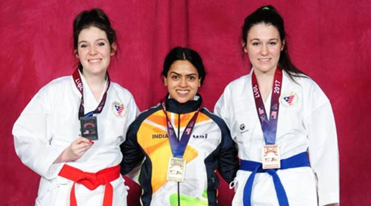 India, Karate, US Open Karate Championship, Las Vegas, sports stories, Indian Express