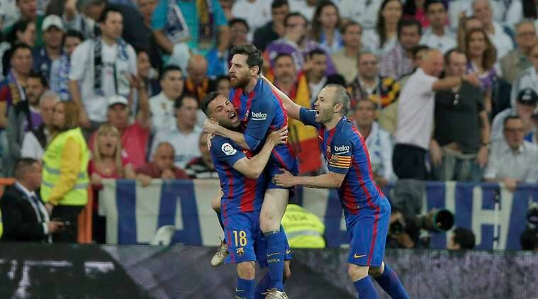 Mascherano scores first Barcelona goal... in his 319th appearance