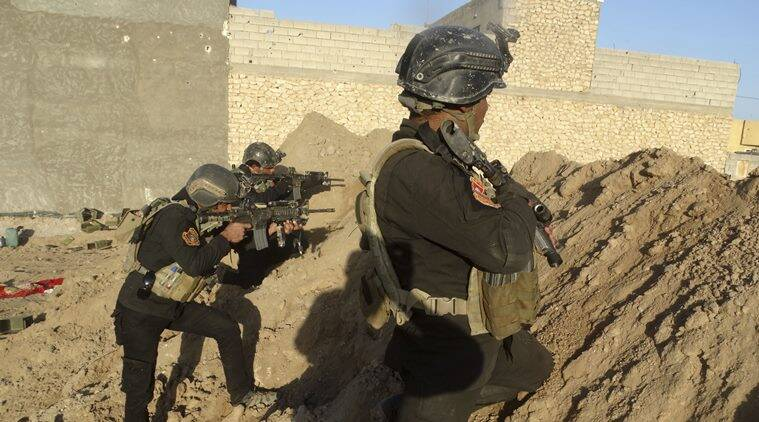 In Mosul, Iraqi snipers track jihadists around the clock