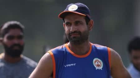 Irfan Pathan, Irfan Pathan news, Irfan Pathan updates, Irfan Pathan bowling, Baroda, Ranji Trophy, sports news, sports, cricket news, Cricket, Indian Express