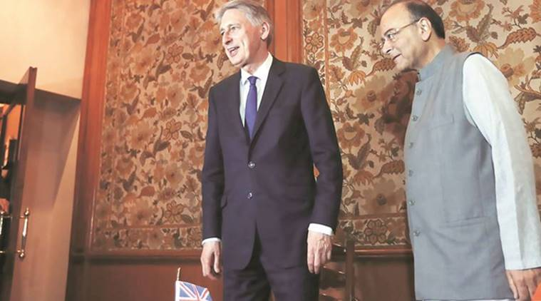 arun jaitley, finance minister, india britain relations, brexit, european union, india britain economic relations, economy news, indian express