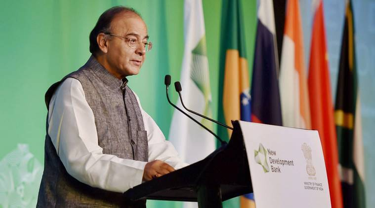 New Development Bank, NDB annual meet, Jaitley NDB meet, Arun Jaitley, Jaitley NDB funding, India seeks NDB funding, Infrastructure funding NDB, Business news, India news, Indian express