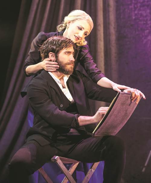 jake gyllenhaal, annaleigh ashford, sunday in the park with george play, broadway