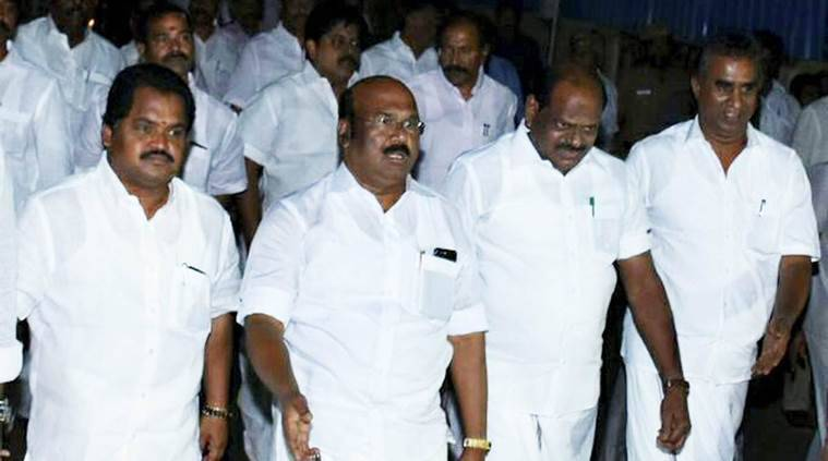 aiadmk, d jayakumar, sasikala, tamil nadu politics, aiadmk latest news, dinakaran, palaniswamy, aiadmk new chief, tamil nadu latest news, india news, indian express