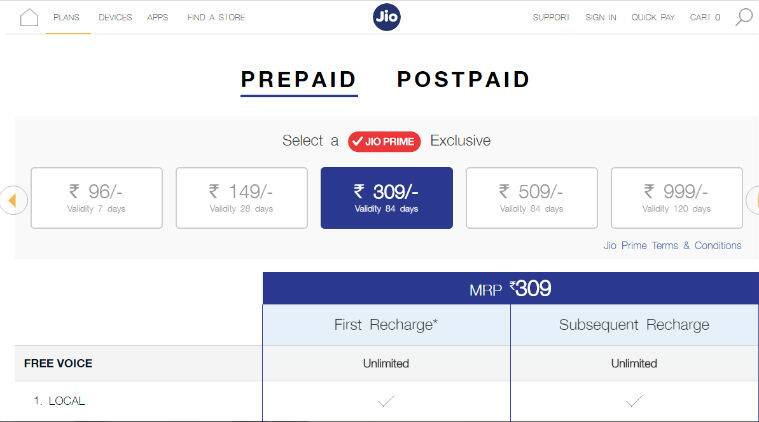 Reliance Jio, BSNL, Airtel and Vodafone: The top prepaid plans for