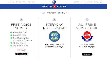 Reliance Jio 4G plans: Here's what you pay and what you get
