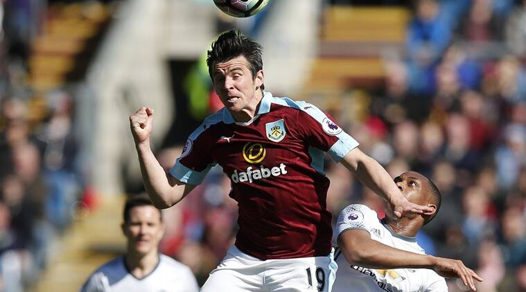 Joey Barton, Joey Barton Burnley, Burnley Joey Barton, Joey Barton matches, Joey Barton goals, sports news, sports, football news, Football, Indian Express