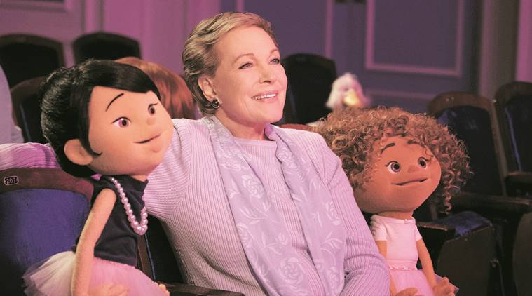 Julie Andrews, educate preschoolers, performance art, broadways, julie's greenroom, netflix show, entertainment, entertainment news, indian express