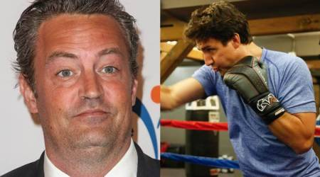FRIENDS actor Matthew Perry challenged by Canadian Prime Minister Justin Trudeau for a fight. Watch video