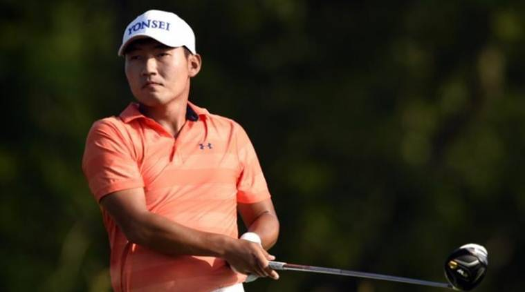 Kang Sung-hoon, Kang Sung-hoon South Korea, South Korea Kang Sung-hoon, US Masters, sports news, sports, golf news, Golf, Indian Express