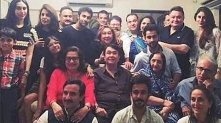 Kareena Kapoor, Saif Ali Khan celebrate Babita Kapoor's 69th birthday with Kapoor khandaan. But why is Taimur Ali Khan missing?
