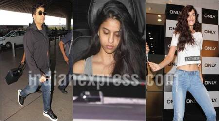 Shah Rukh Khan's daughter Suhana visits Karan Johar's twins, Disha Patani dances to Justin Beiber's tunes