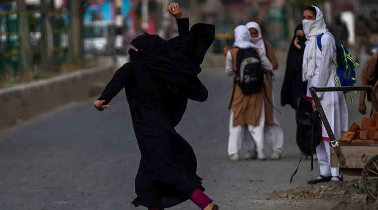 Kashmir, Kashmir protests, Kashmir unrest, University protests Kashmir, Colleges closed Kashmir, Kashmir Valley colleges closed, Pulwama clashes, India news, Indian Express