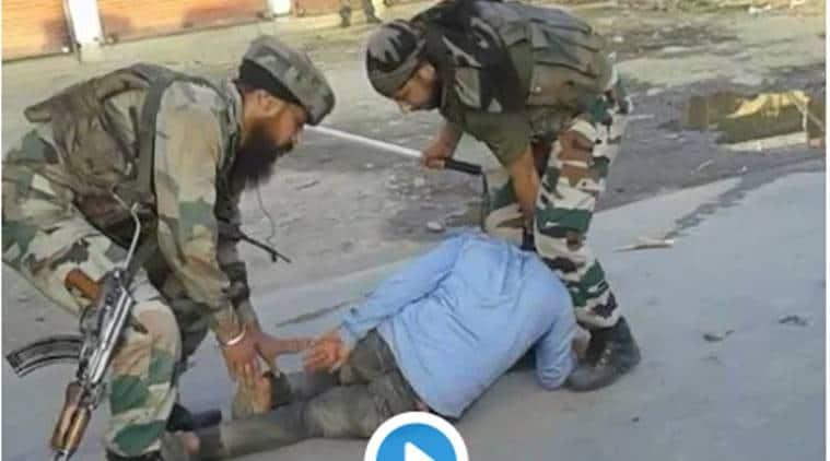 kashmir, video, army video, crpf video, video, jawan video, crpf jawan video, jeep video, J&K, jammu kashmir, kashmir news