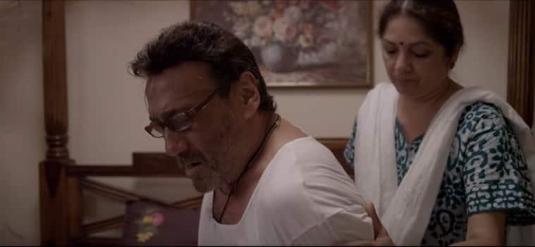 Jackie shroff, Neena Gupta, khujli short film, Jackie Shroff neena gupta, jackie shroff neena gupta Khujli stills,