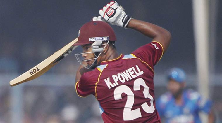 india vs west indies, ind vs wi, india vs west indies 3rd odi, ind vs wi 3rd odi, kieran powell, kieran powell west indies, cricket news, cricket, sports ews, indian express