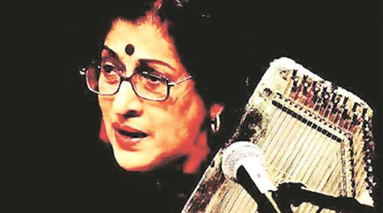 Kishori Amonkar leading Indian classical vocalist, dies at 84