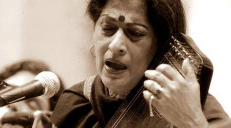 Kishori Amonkar's music, her dying, her Bhairavi, took us to the depths of oursoul