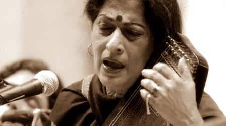 Kishori Amonkar, Kishori Amonkar dead, Kishori Amonkar died, Kishori Amonkar music, Kishori Amonkar artist, Kishori Amonkar ragas, Indian express