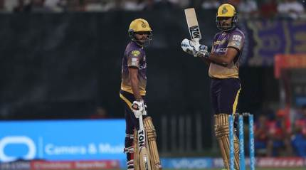 IPL 2017 Live: Knight Riders vs Royal Challengers