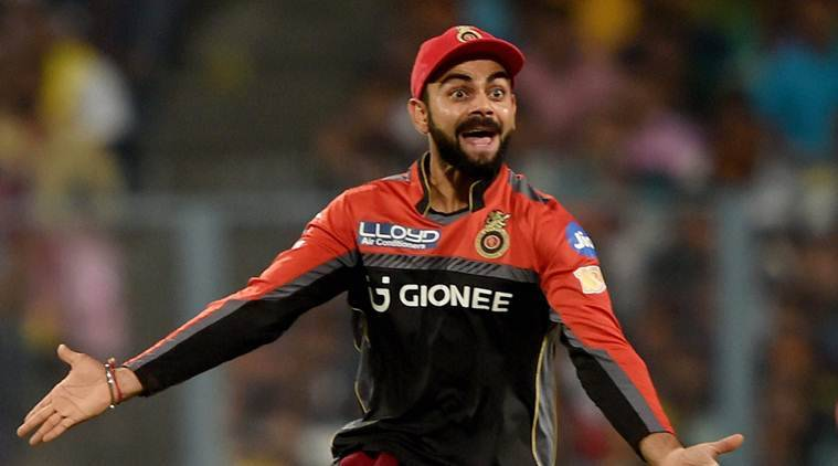 Virat Kohli gets angry at umpire after Hardik Pandya was wrongly called not out.