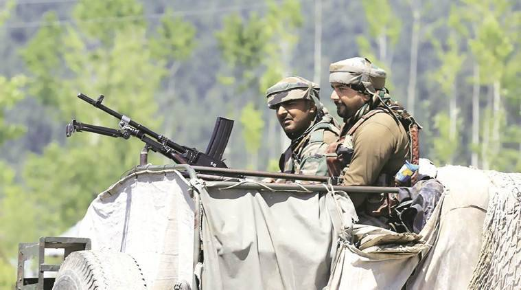 kupwara attack, kupwara army attack, crpf attack, Pir Panjal range, kashmir unrest, kashmir protest, kashmir infiltration, Army camp, militant target Army camp, kupwara attack, indian express news, india news