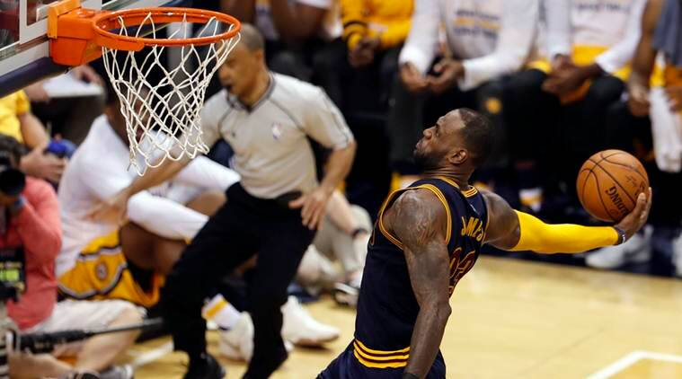 NBA: LeBron James leads Cleveland Cavaliers to record second-half comeback win over Indiana Pacers