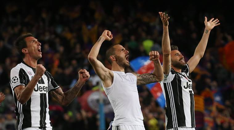 Juventus, Barcelona, Barca vs Juve, Juventus vs Barcelona, Champions League, Champions League quarterfinals, UEFA Champions League, Leonardo Bonucci, sports news, football news, Indian Express