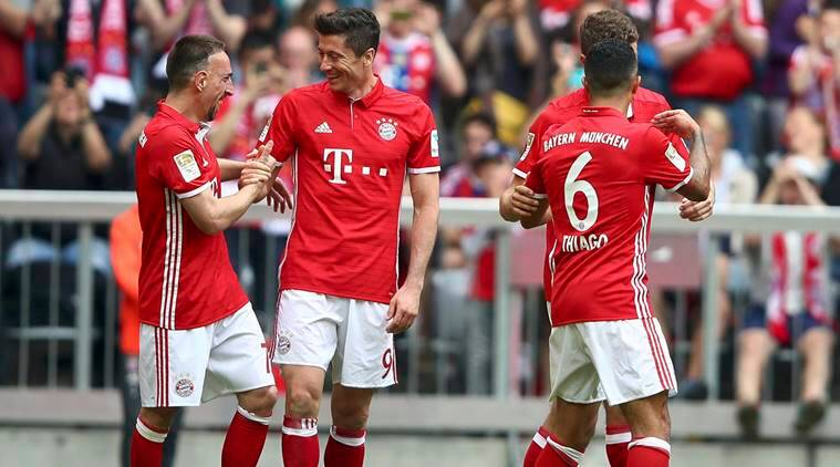 Robert Lewandowski, Robert Lewandowski Bayern Munich, Bayern Robert Lewandowski, sports news, sports, football news, Football, Indian Express