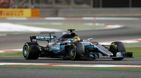 Lewis Hamilton, Lewis Hamilton news, Lewis Hamilton updates, Bahrain Grand Prix, news, Bahrain Grand Prix, sports news, sports, Indian Express
