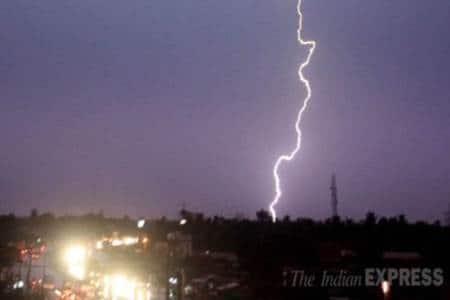 Lightening deaths India, IAF lightening deaths, IMD lightening deaths, IMD to work with IAF, lightening sensors, IITM India, J Ramesh, India news, Indian Express