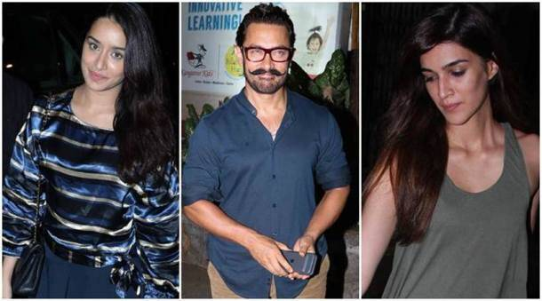 Aamir Khan, Shraddha Kapoor, Kriti Sanon, Ekta Kapoor, Huma Qureshi, Bipasha Basu, Karan Singh Grover, Aamir Khan images, Aamir Khan pics, Aamir Khan news, Aamir Khan photos, Shraddha Kapoor images, Shraddha Kapoor pics, entertainment news, indian express, indian express news