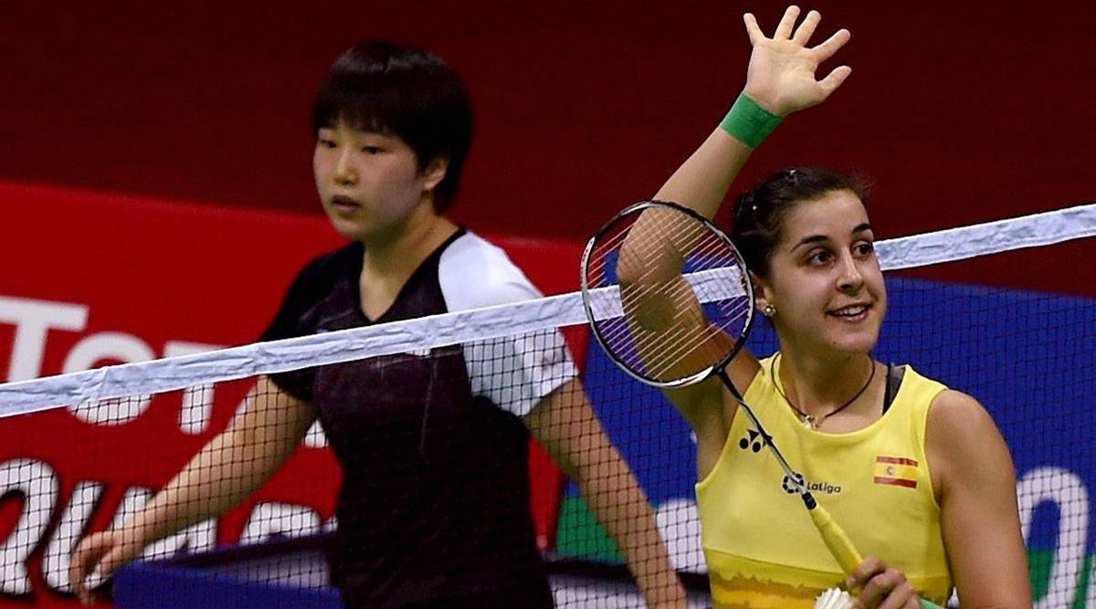 Carolina Marin beats PV Sindhu 11 21 15 21 Match highlights