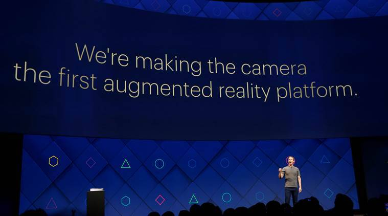 Facebook CEO sees augmented reality's future in the camera