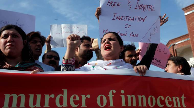 pakistan lynching, pakistan blasphemy, pakistan blasphemy lynching, pakistan ahmadiya, iqbal and ahmadiya, Mashal Khan, Mashal Khan lynching, pakistan mob violence, pakistan intolerance, intolerance, india intolerance, india news, latest news, indian express news
