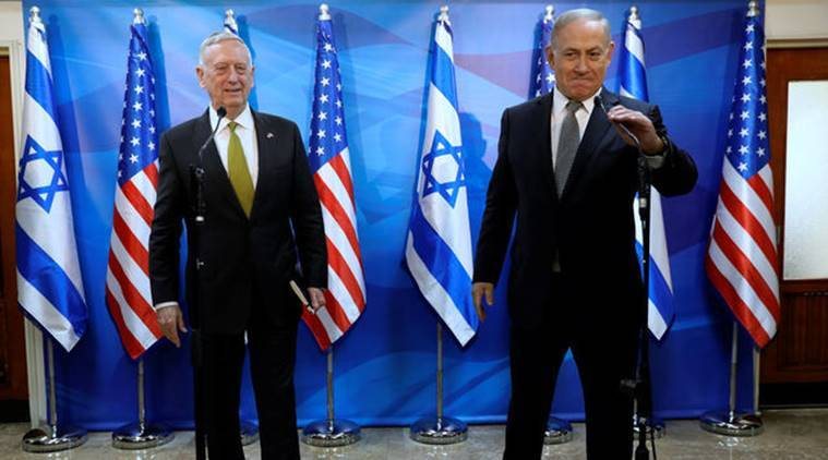 Jim Mattis, Jim Mattis Israel, Mattis Syria chemical war, Syria chemical weapons, US syria, latest news, latest world news