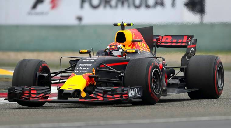 Max Verstappen passes nine cars in one lap to finish third ...