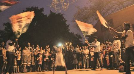Poll dance: A day in the life of Congress flash mob teams campaigning for Delhi civic elections