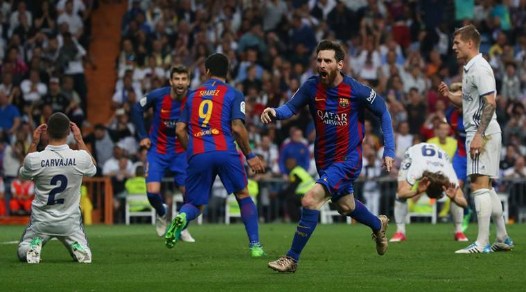 Lionel Messi scores twice as Barcelona beat Real Madrid 3 ...