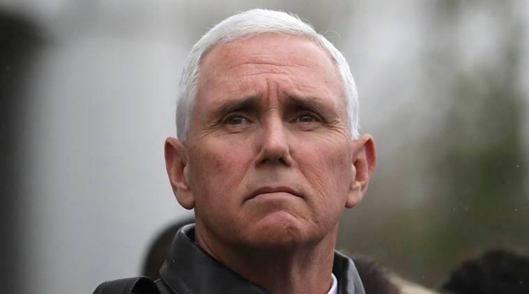 US VP Mike Pence, Mike Pence, US vice president, north korea missiles, N Korea missiles, n korea ballistic missiles, world news, latest news, indian express news
