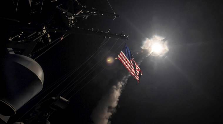 Syria chemical attack, US chemical attack on Syria, Syria, Syria-US, Syria crisis, Syria current situation, world news, indian express news