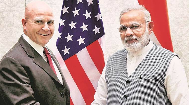 Trump administration first meeting with Modi in India MOAB