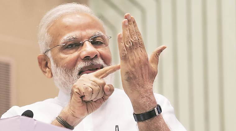 narendra modi, pm modi, tax department, IT department, income tax evaders, tax evasion, data on tax evasion, modi meeting tax department, economy news, gst. indian express
