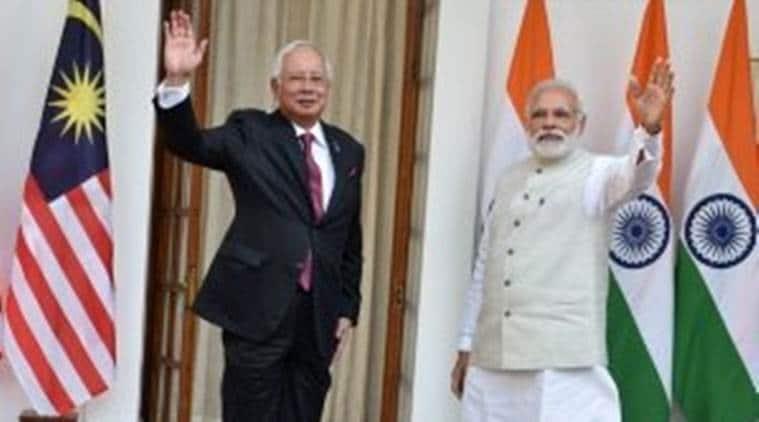 Narendra modi, Malaysia PM, Modi malaysia, Najib Rajak in India, Malaysia PM india, Malaysia PM india visit, Modi najib razak, Narendra Modi news, Modi news, India malaysia, India Malaysia relations, India Malaysia pacts, India news, Indian express
